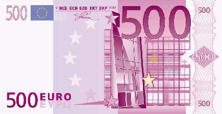 banconota cinquecento euro