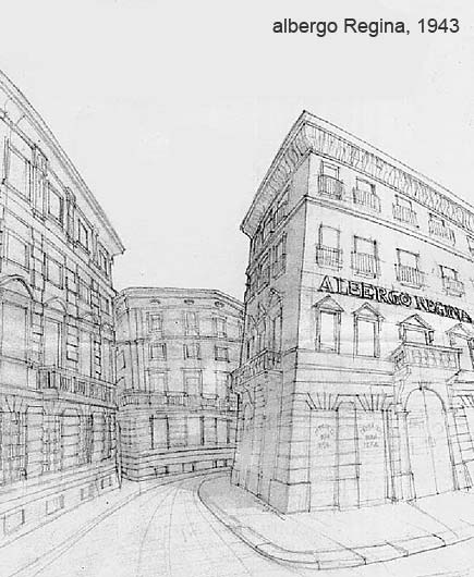 Milano -  Albergo Regina, 1943