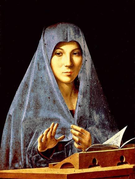 Annunziata di Antonello da Messsina