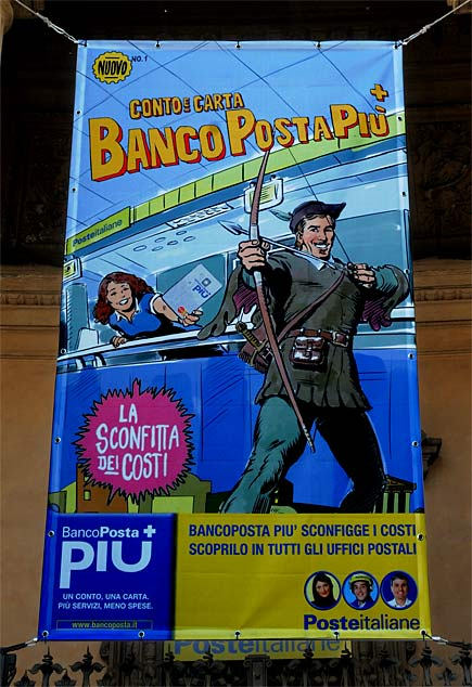 Pubblicit Bancoposta