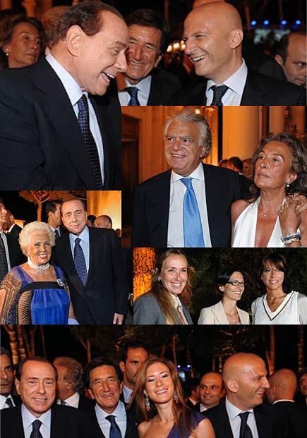 Festa per il compleanno del ministro Rotondi