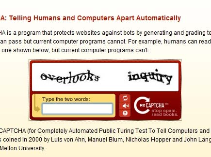 captcha