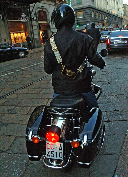 carabiniere motociclista