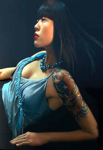 modella cinese