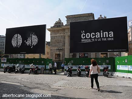 Cocaina in corso Como a Milano