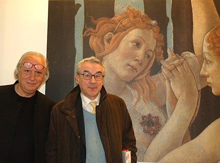 Giuseppe Conte e Giulio Giorello