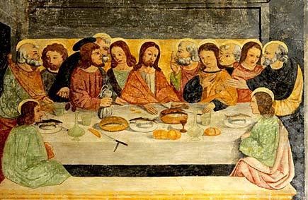 Convento di San Domenico, Taggia - Ultima cena