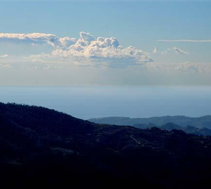 Il mare dalla cima di Bajardo
