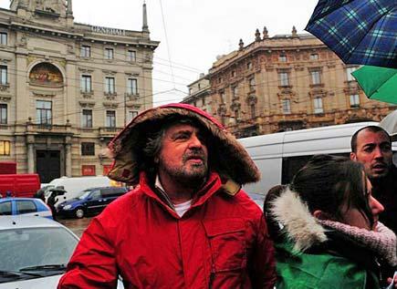 Beppe Grillo - No via Craxi