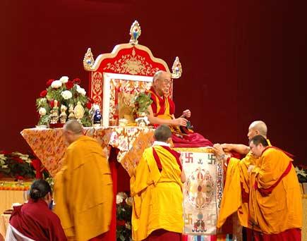 Dalai Lama a Milano