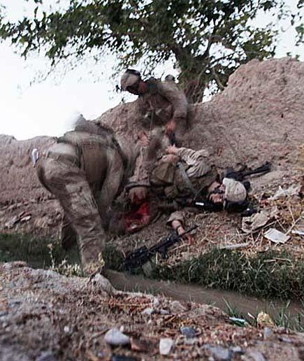 Joshua Bernard, marine colpito a morto in Afghanistan