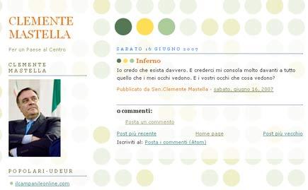 Blog di Clemente Mastella