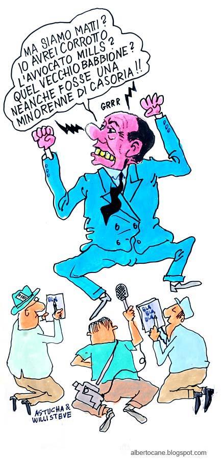 vignetta sentenza corruzione berlusconi smills