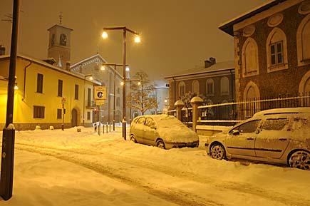 Neve a Milano