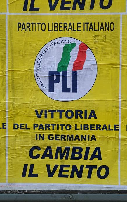 Manifesto partito liberale italiano