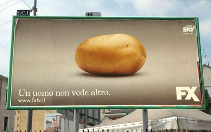 pubblicità patata