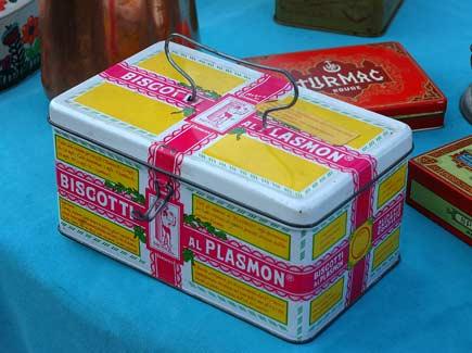 cestino di biscotti al plasmon