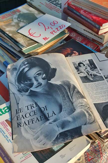 Raffaella Carrà da giovane