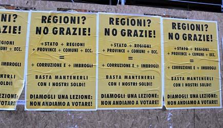 Manifesto regioni no grazie