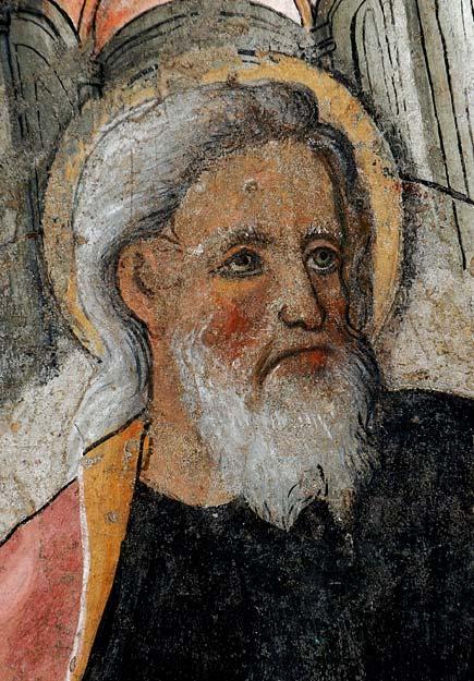 Giovanni Canavesio  - Particolare di affresco della chiesa di San Bernardo a Pigna