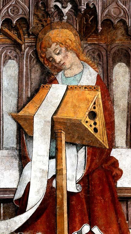 Chiesa di San Bernardo - Affreschi di Giovanni Canavesio - Pigna