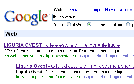 screenshot google