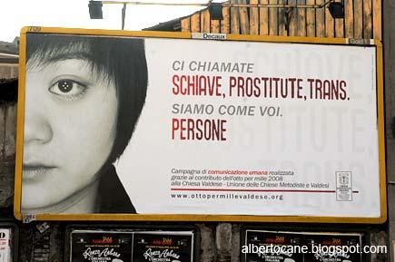 Schiave, prostitute, trans