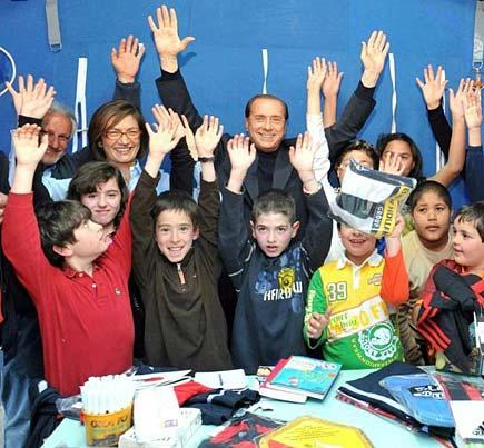 Scuola a L'Aquila dopo il terremoto