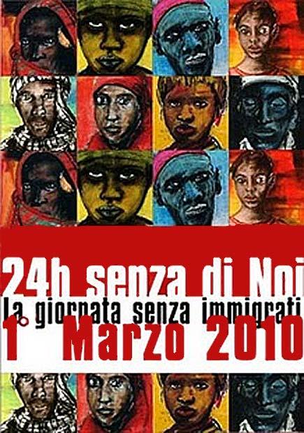 Primo Marzo 2010, sciopero degli Stranieri
