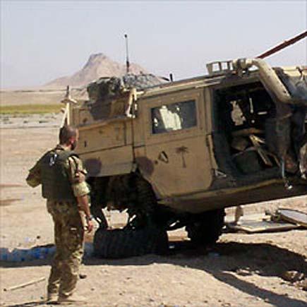 mezzo italiano in Afghanistan