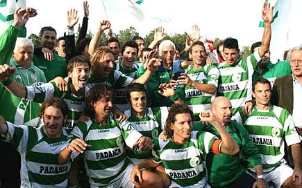La Nazionale di calcio della Padania