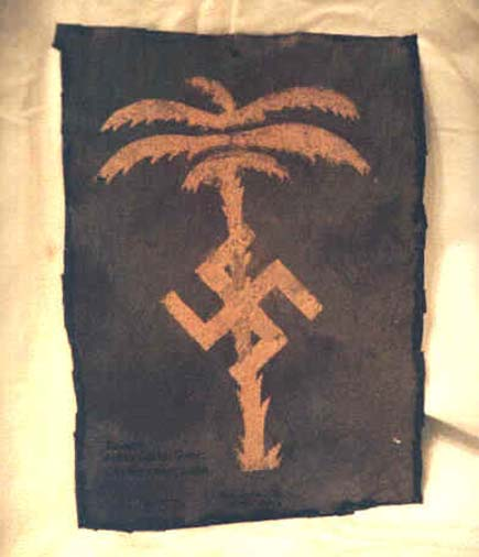 simbolo Deutsches Afrika Korps