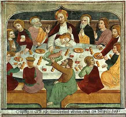 Ultima cena Canavesio