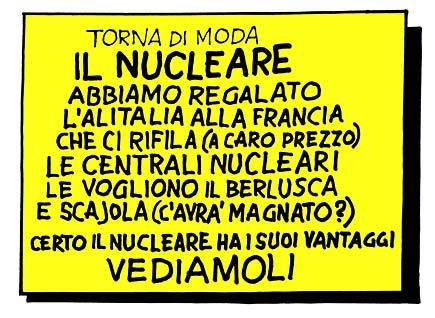 I vantaggi del nucleare