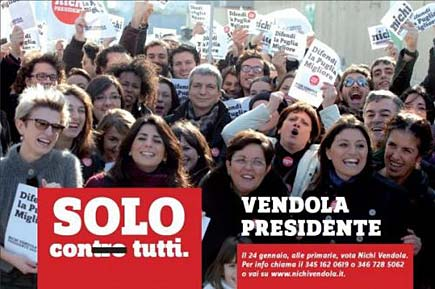 Vendola presidente